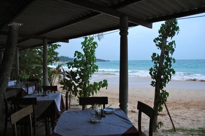 Paradise Beach Club restaurant