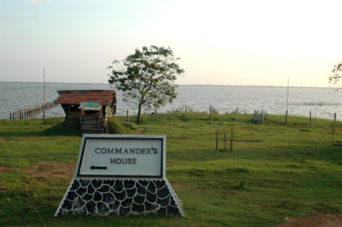 Way to Commander's House