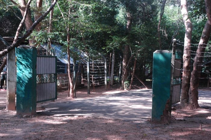 Inner entrance to the compound