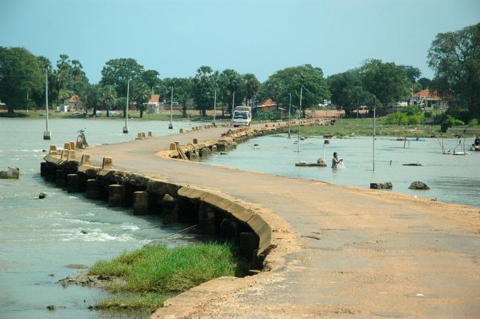 Nanthikadal causeway