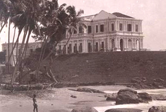 Mount Lavinia in 1900 (Photo Wikipedia0