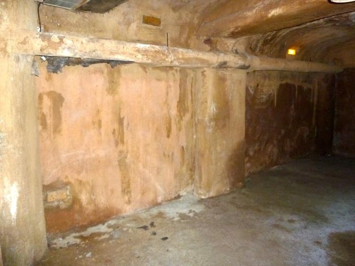 Sealed up tunnel door