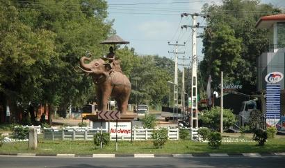 Entrance to Anuradhapura