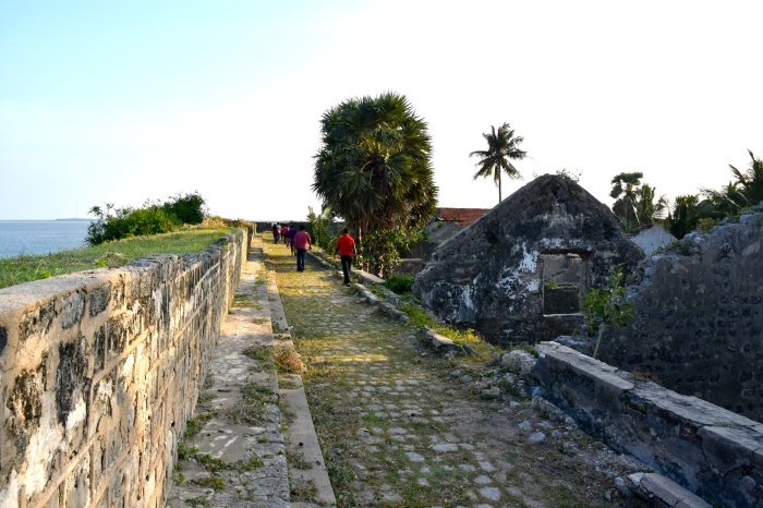 On the ramparts